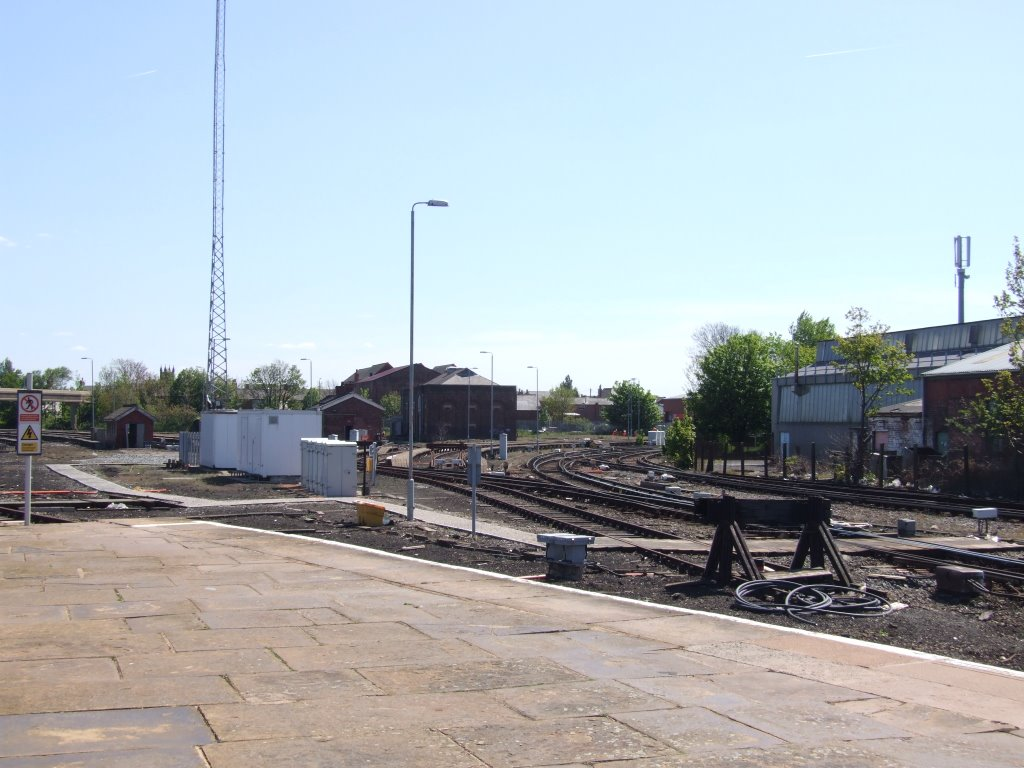 Southport Station Looking Towards The Liverpool Branch., Саутпорт
