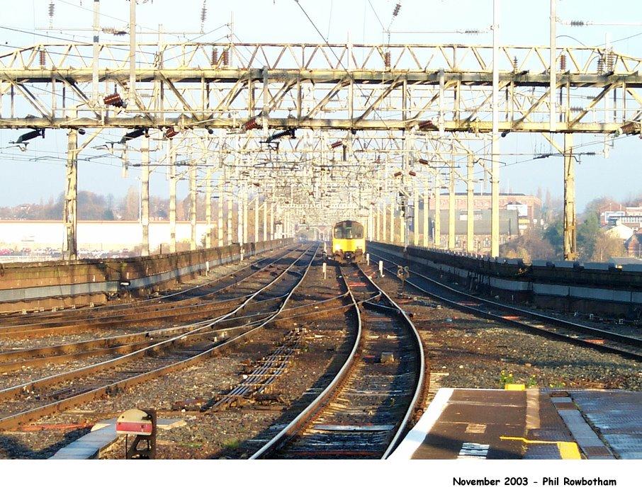 Stockport viaduct tracks, Стокпорт