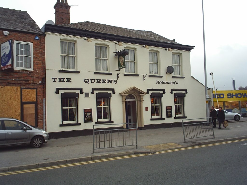 The Queens, Gt Portwood, Stockport, Стокпорт