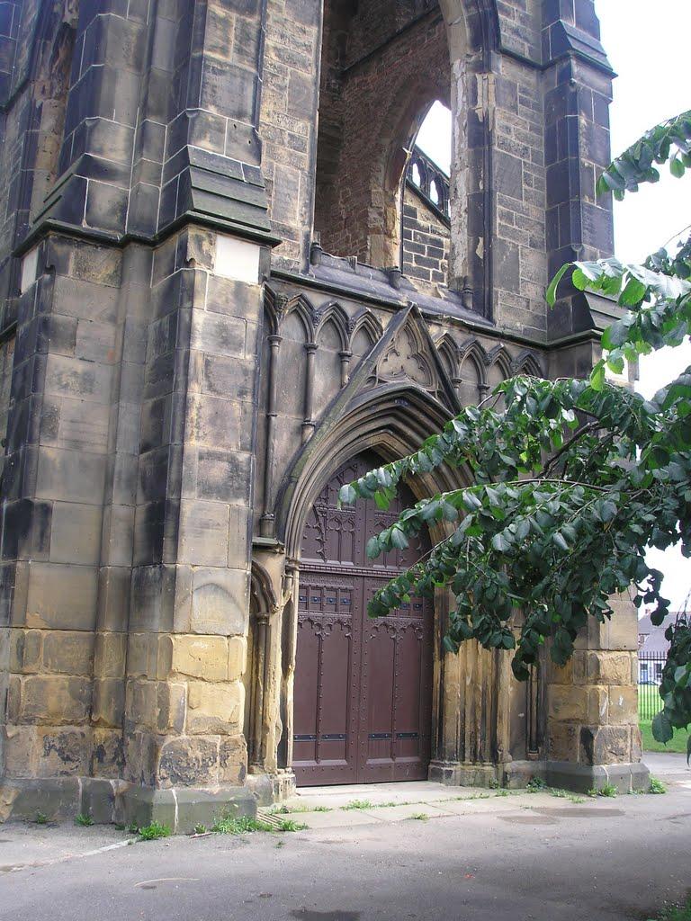 Doors at entrance, Стоктон-он-Тис