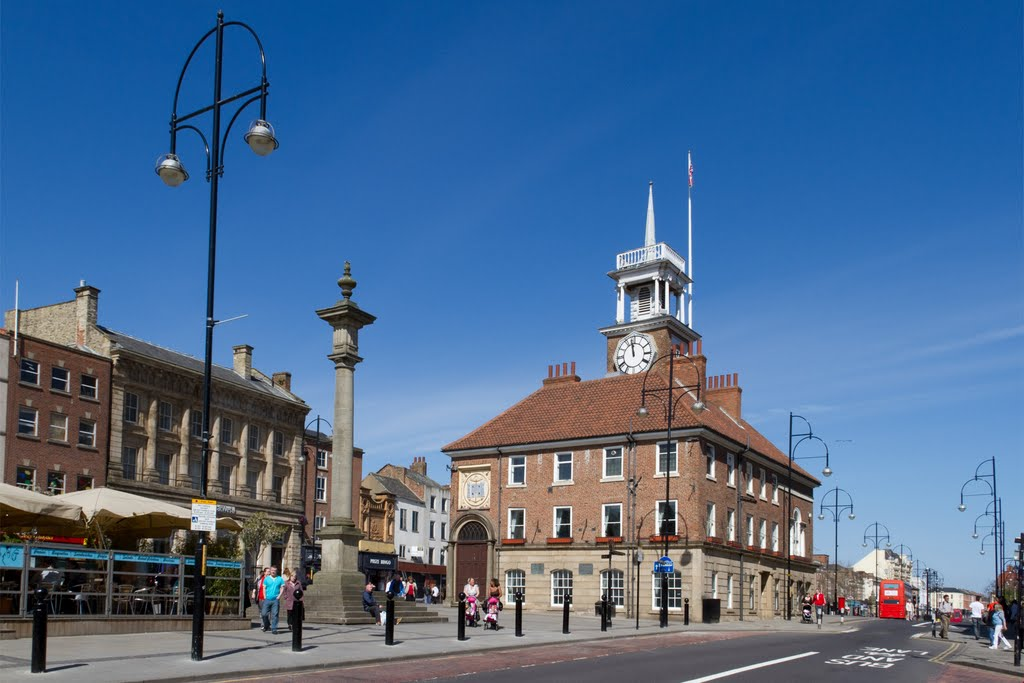 Town Hall, Stockton on Tees, Стоктон-он-Тис