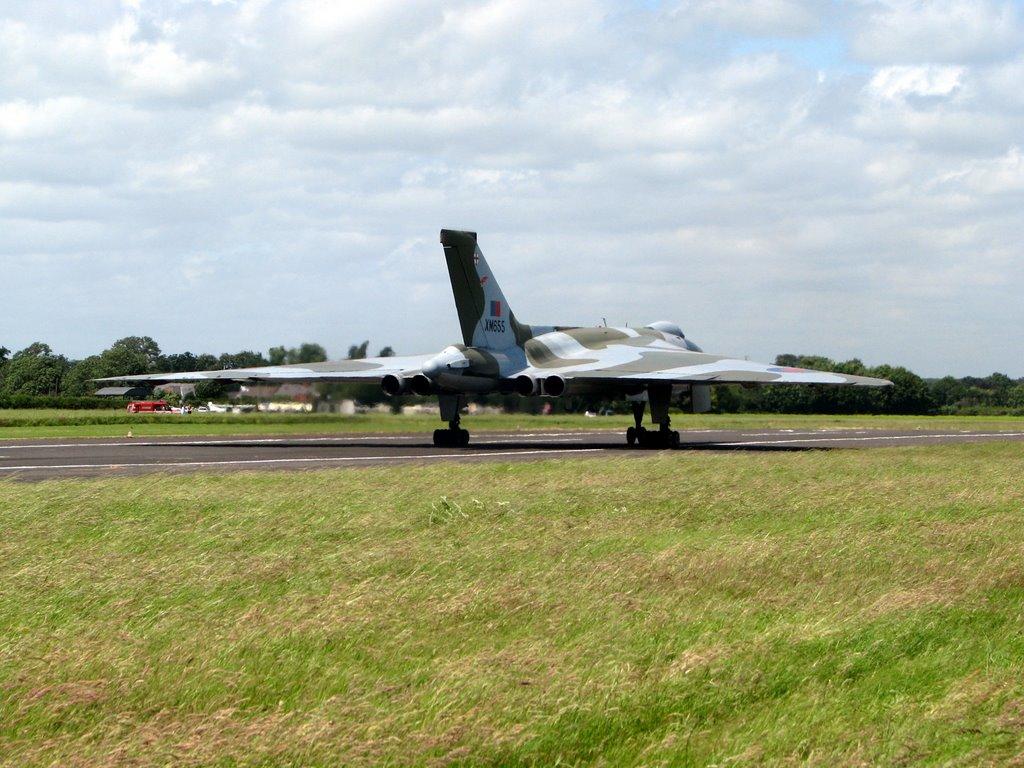 Avro Vulcan XM 655 - The Hot End !, Стратфорд-он-Эйвон