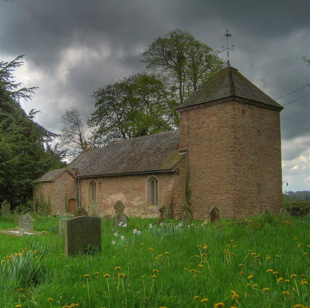 Church at Leysters, Стретфорд