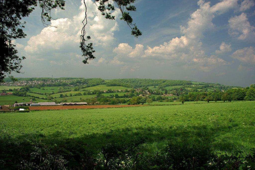 Looking towards Pitchcombe, Строуд