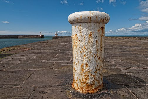Rusty Sentry Whitehaven Harbour, Уайтхейен