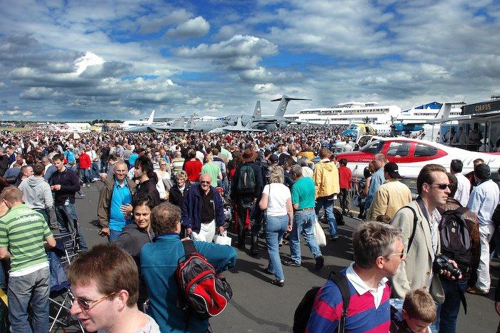 Farnborough International Airshow 2008, Фарнборо