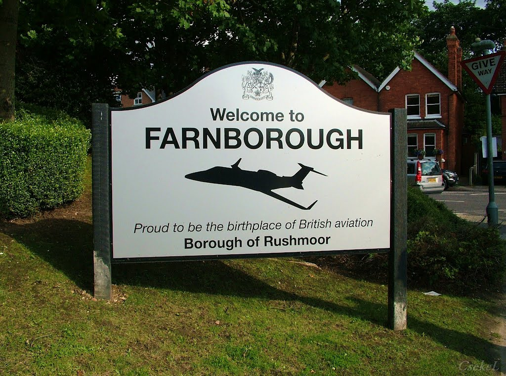 Welcome to Farnborough, Фарнборо