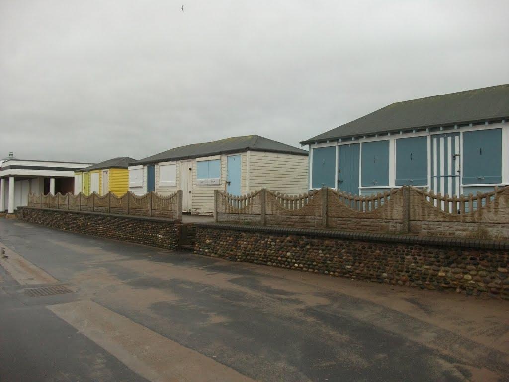 Fleetwood beach huts, Флитвуд