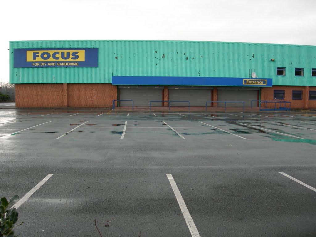 Stephenson Way Focus DIY Store January 2008, Формби