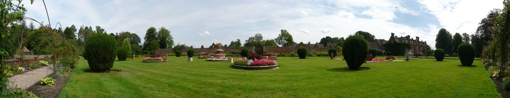 Rothamsted Manor gardens, Харпенден