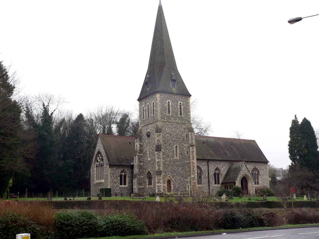 St Marys C of E Church, Apsley, Hertfordshire, Хемел-Хемпстед