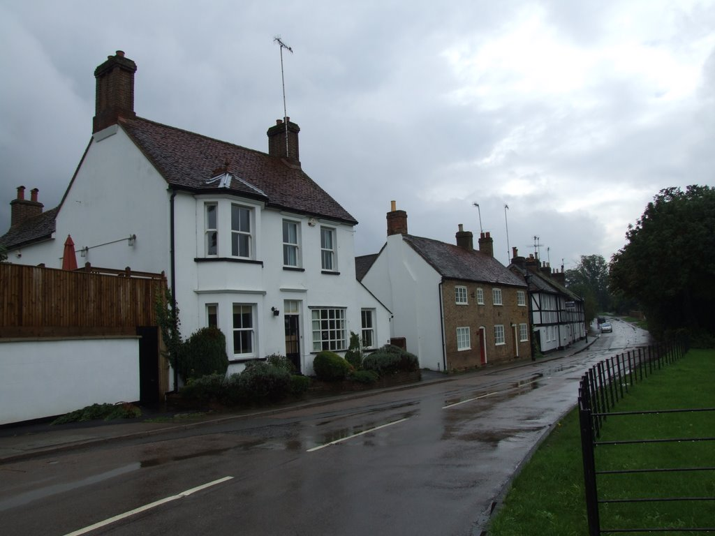 Cottages in Piccotts End, Хемел-Хемпстед