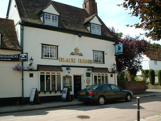 The Black Horse - West Street Gardens, Hertford, Хертфорд
