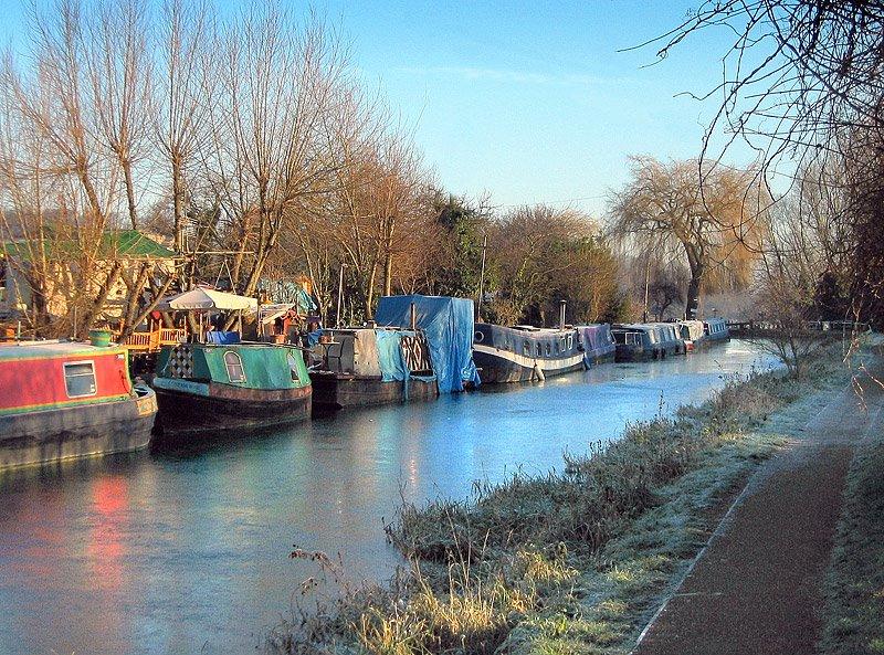 River Lea Hertford, Хертфорд