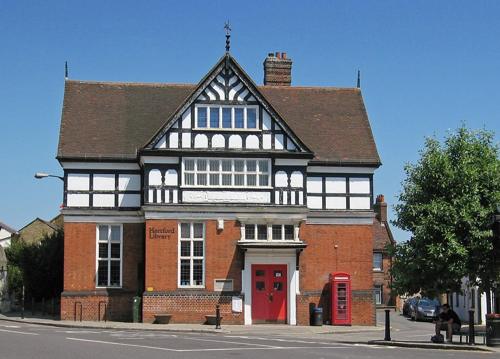 Old Hertford Library, Хертфорд