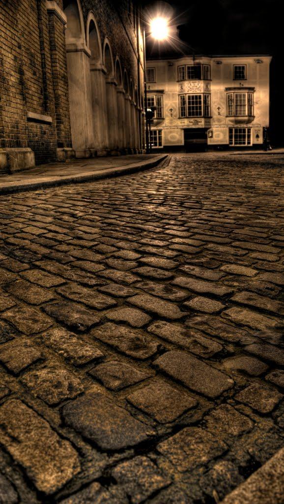 Hertford Street at Night (HDR), Хертфорд