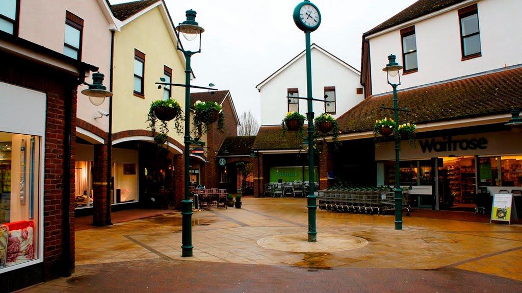 Bricherley Green Shopping Centre - Hertford, Хертфорд