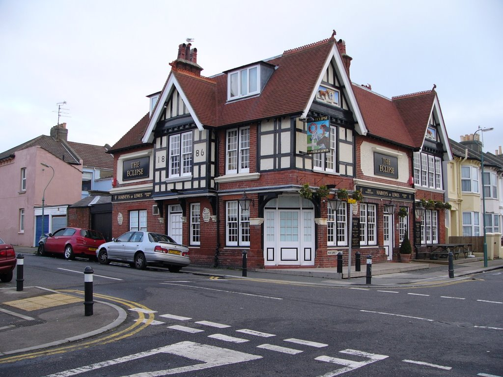 The Eclipse, Poets Corner, Hove, Хоув