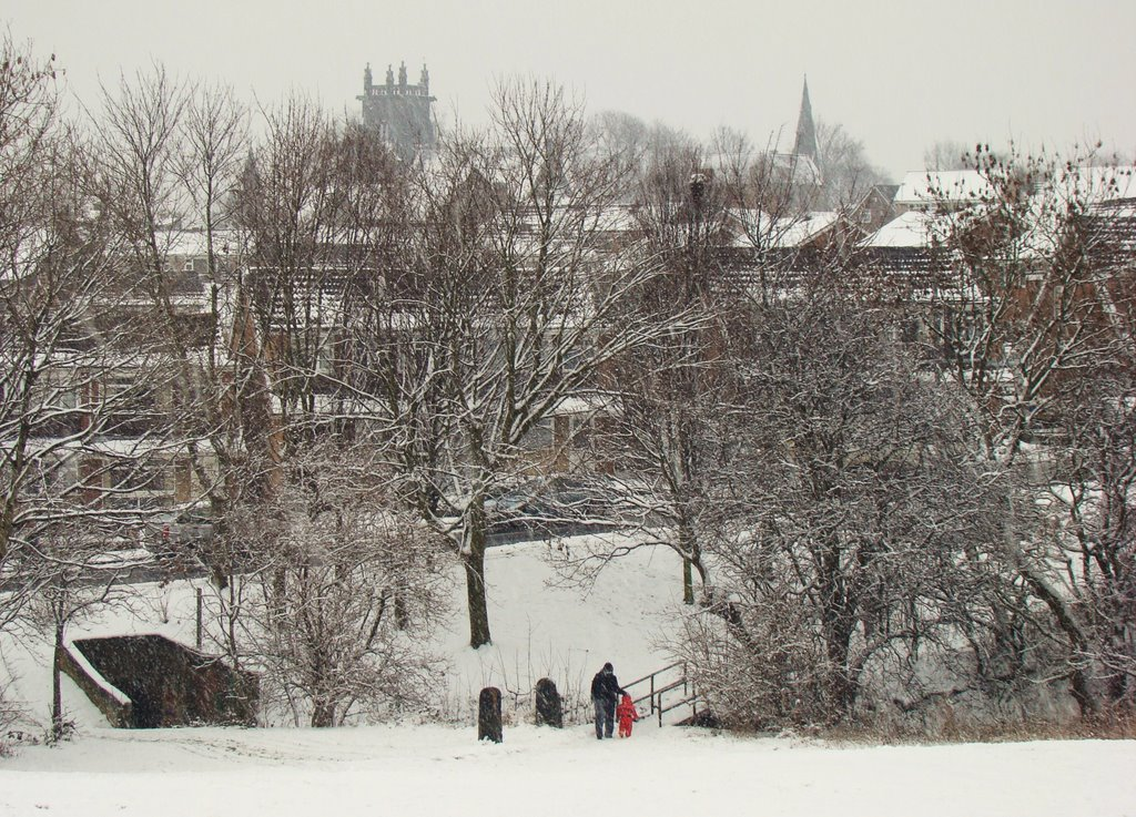 Charltonbrook in the snow, Chapeltown/High Green, Sheffield S35, Чапелтаун