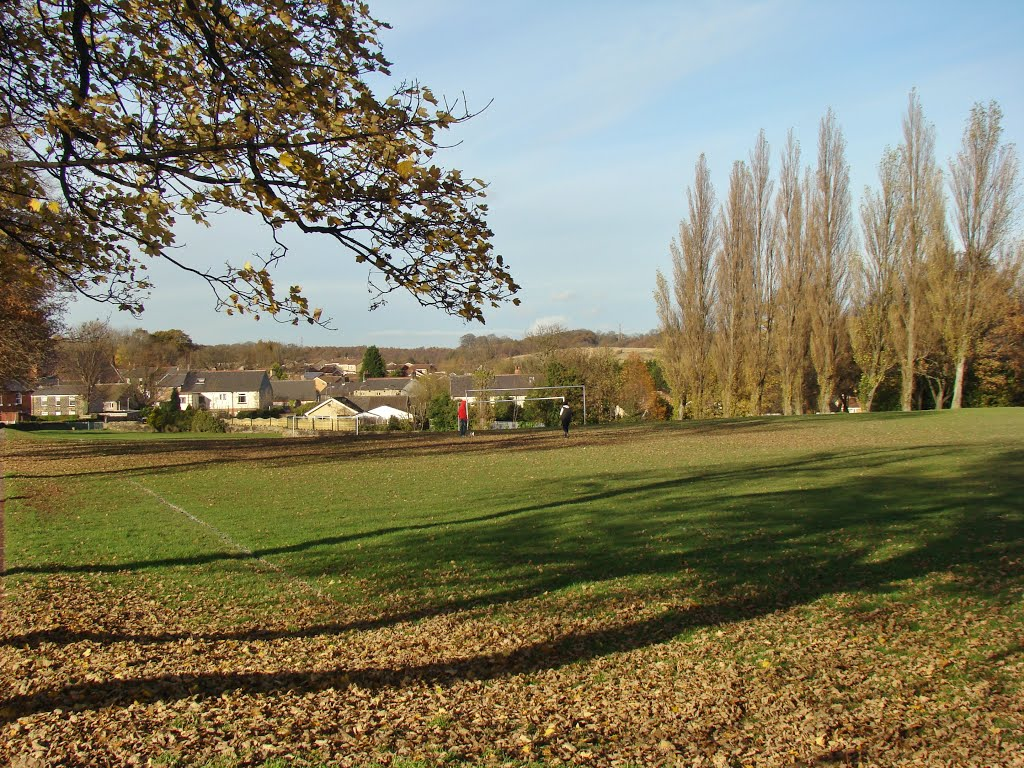 Late autumn in Mortomley Park, High Green, Sheffield S35, Чапелтаун