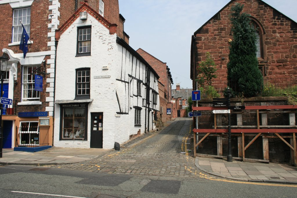 Side streets of Chester, Честер