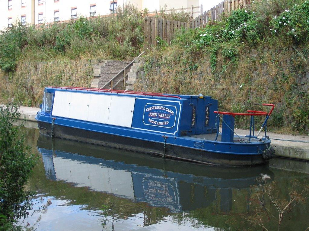 John Varley canal boat, Честерфилд