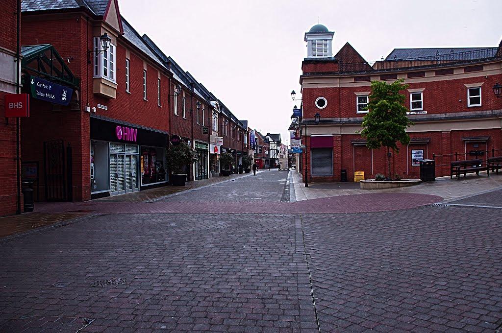 """vicar lane"" chesterfield. derbyshire july 2012, Честерфилд"