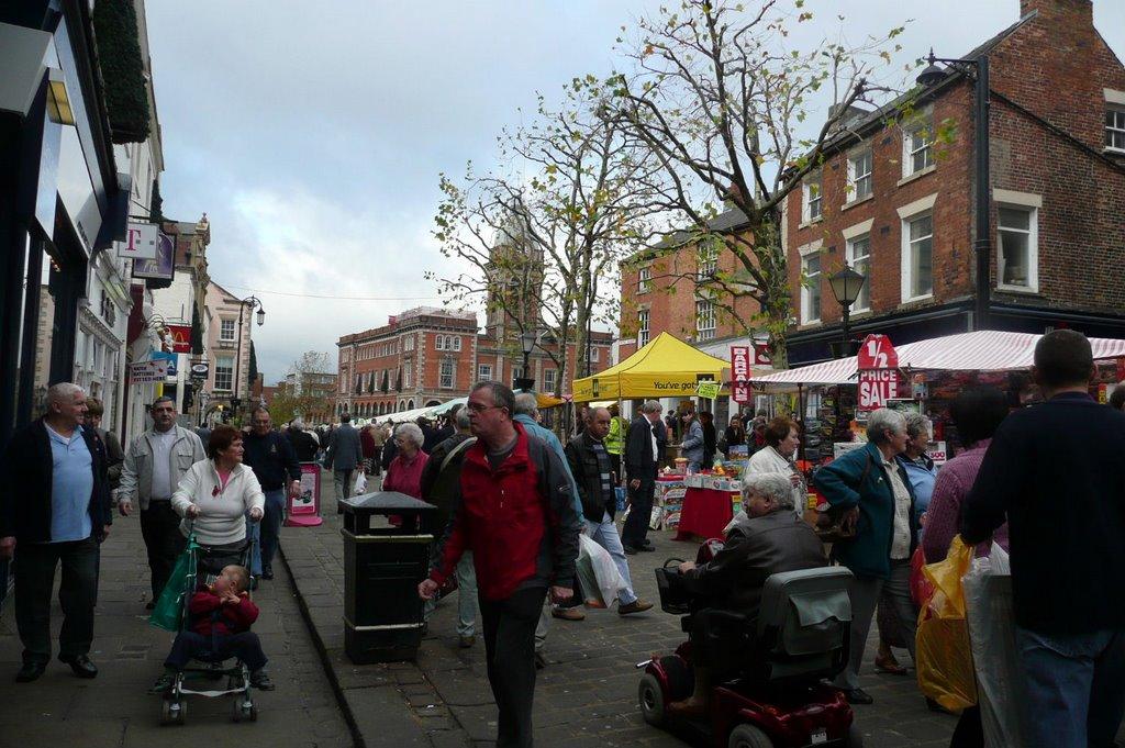 Chesterfield on Market Day, Честерфилд