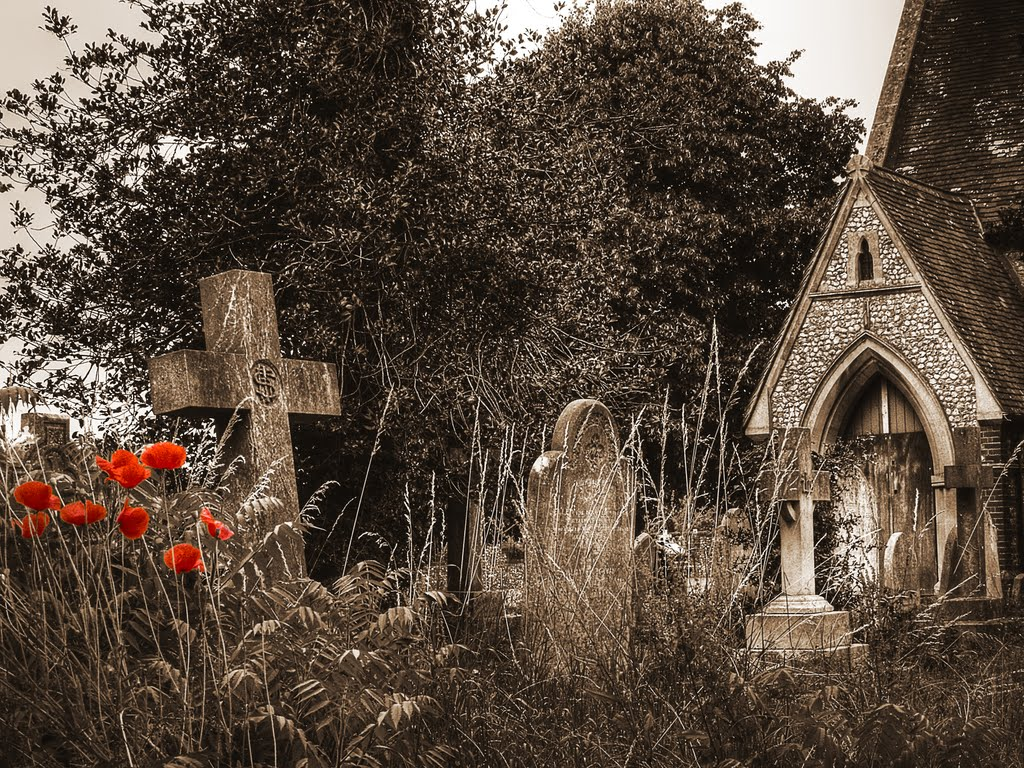 All Saints Church Yard Portfield Chichester, Чичестер