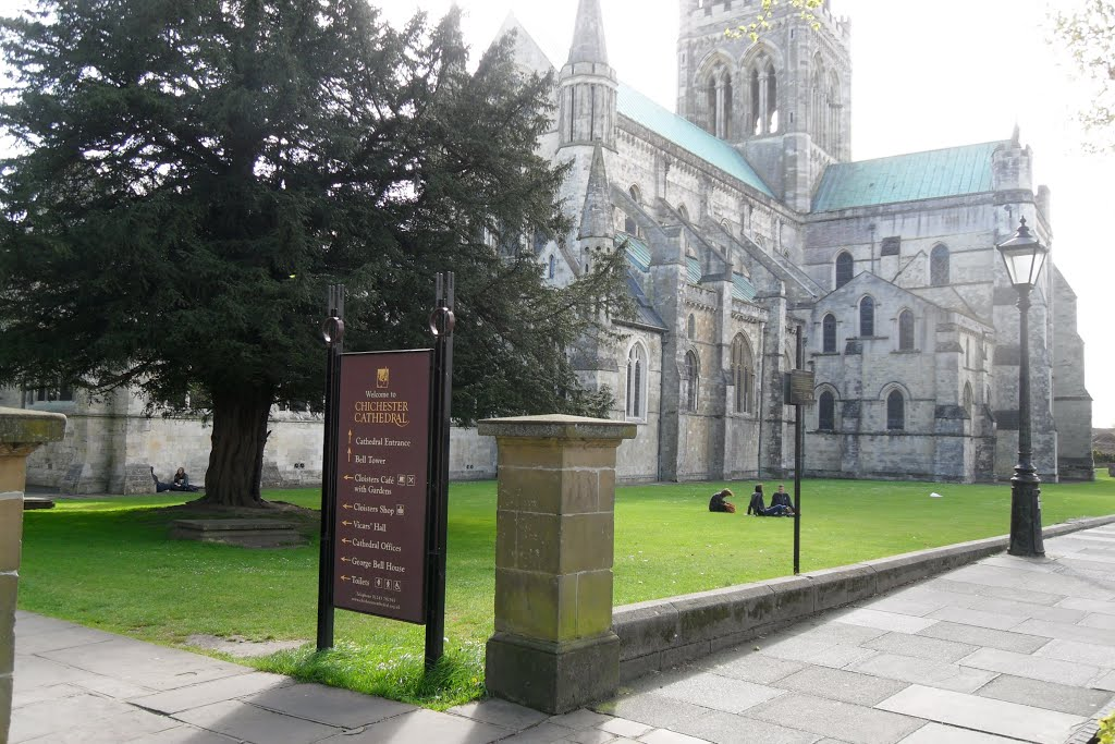 chichester cathedral, Чичестер