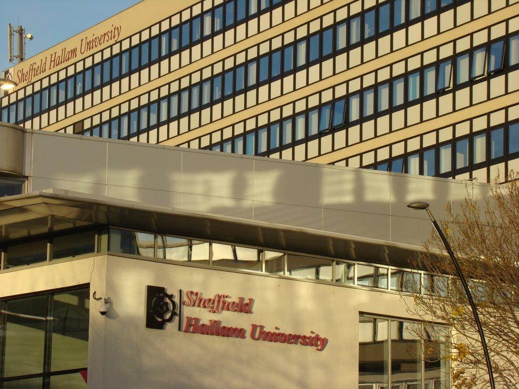 Sheffield Hallam University Owen building, Sheffield S1, Шеффилд