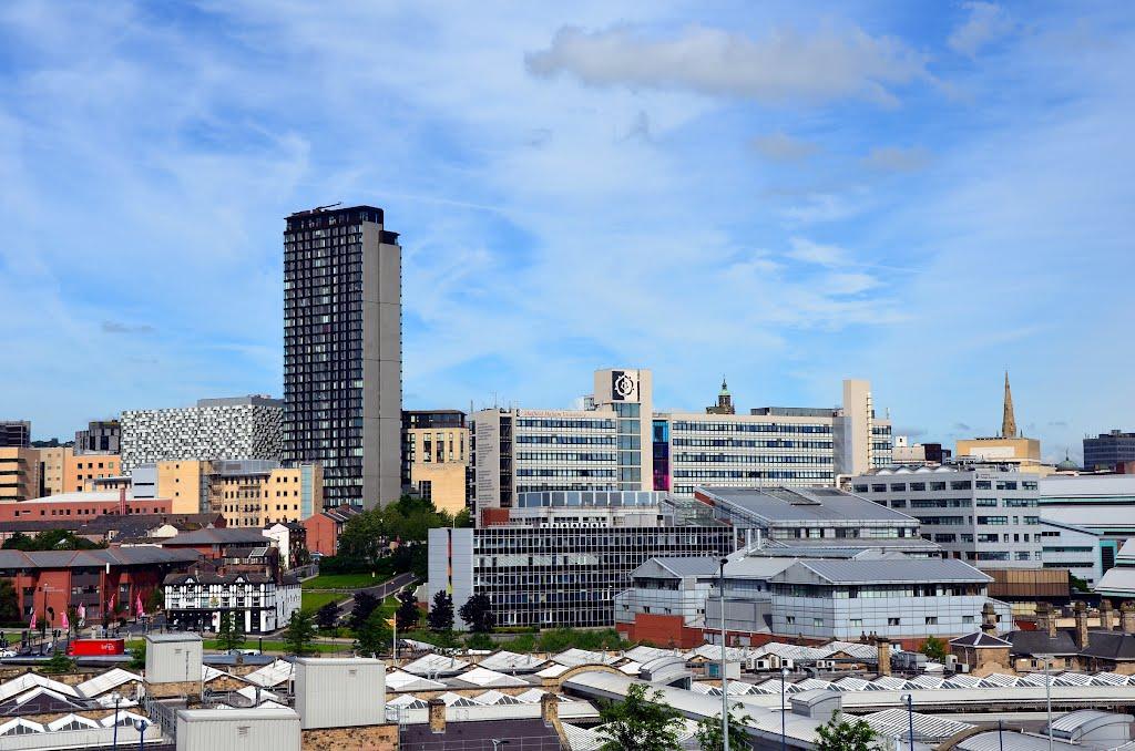 View of Sheffield, Шеффилд