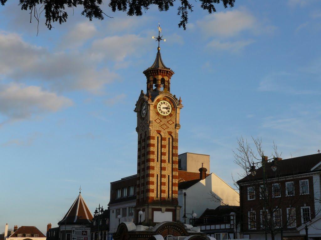 Clock tower, Эпсом