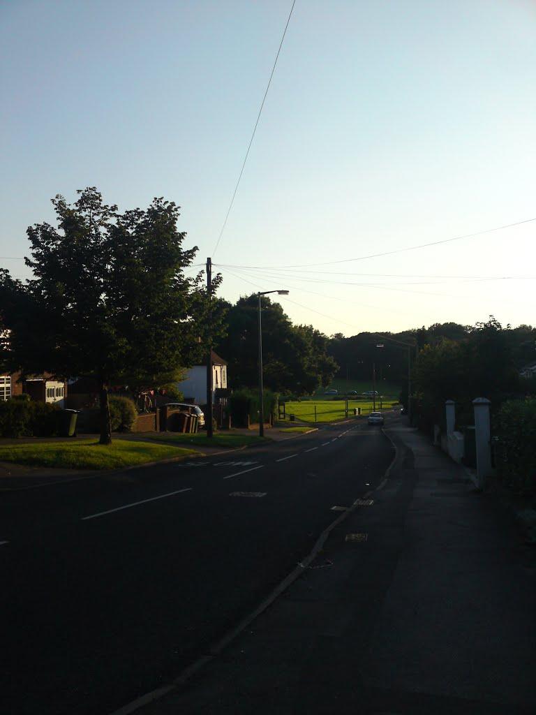 west hill view, Эпсом