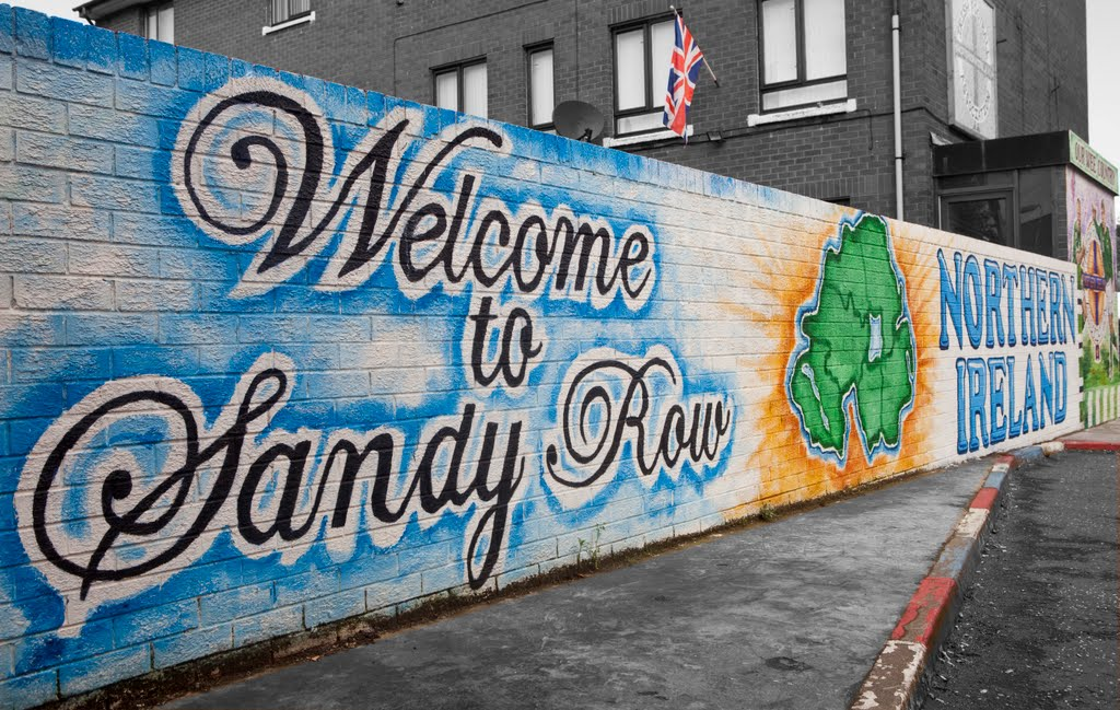 Welcome to Sandy Row, Belfast, Белфаст