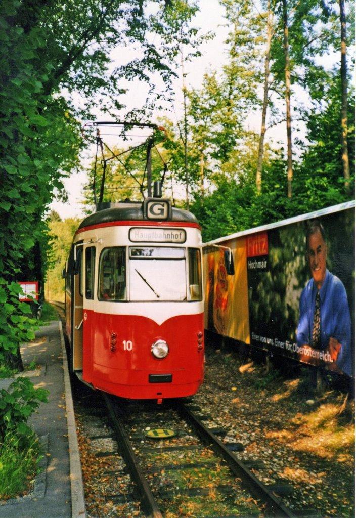 Gmunden Strassenbahn/Kleinster Strassenbahnbetrieb der Welt, Гмунден