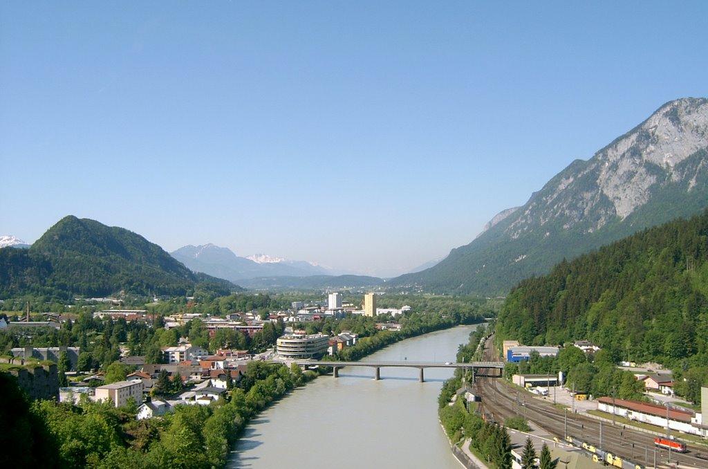#19 Kilátás a várból, Kufstein, Ausztria, Куфштайн