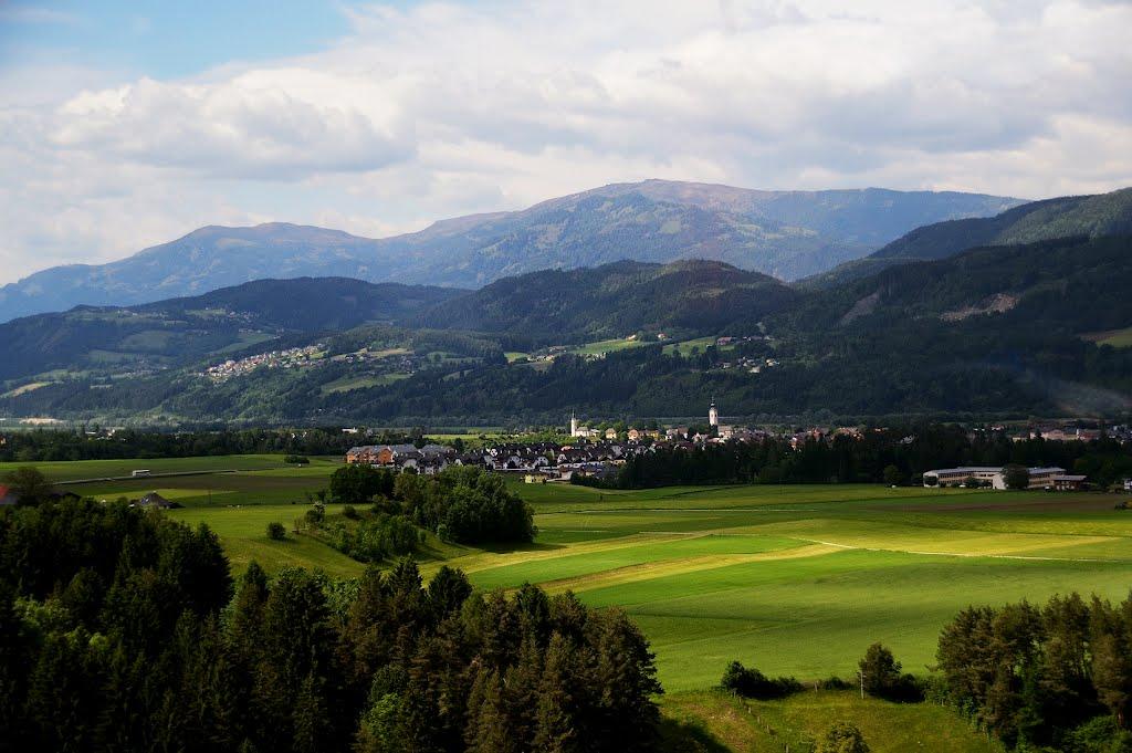 Alpesi táj, Филлах