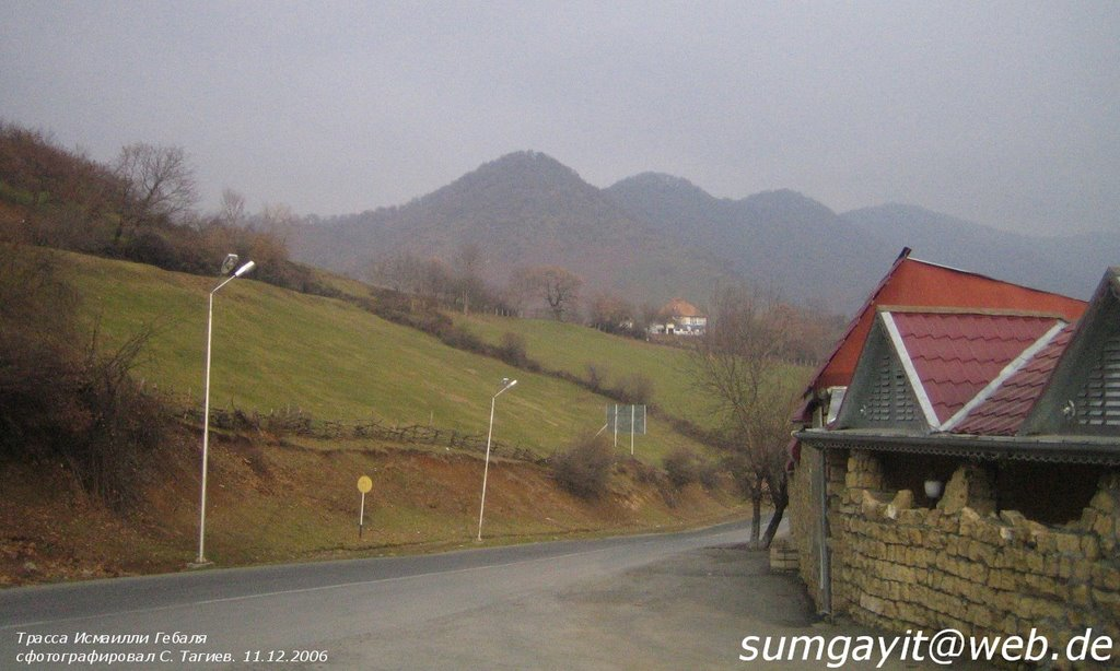 11.12.2006 Qəbələ, Vəndam kəndi, Варташен