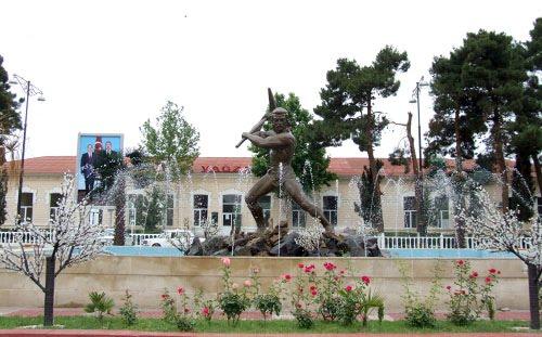 Yevlax şəhər Dəmiryol vağzalı, Евлах