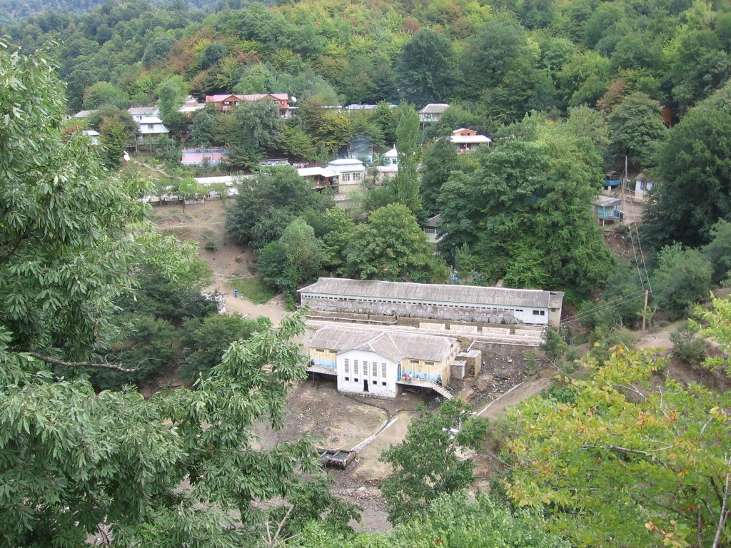 Istisu (Hot Water) Sanatorium, Биласувар