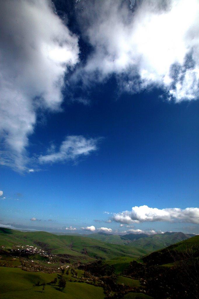 Vue vers le Mont Dizdoni (1056m), Биласувар
