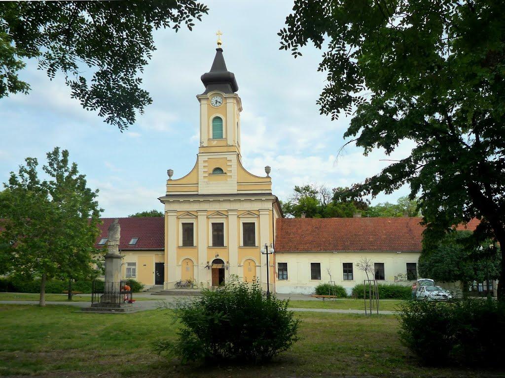 Kecskemét,  Czollner tér,  Árpád-házi Szent Erzsébet templom, Кечкемет