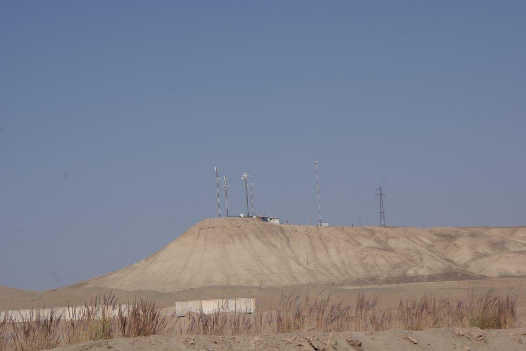 Радиолокационная Вышка на Нижнем Пяндже, Нижний Пяндж
