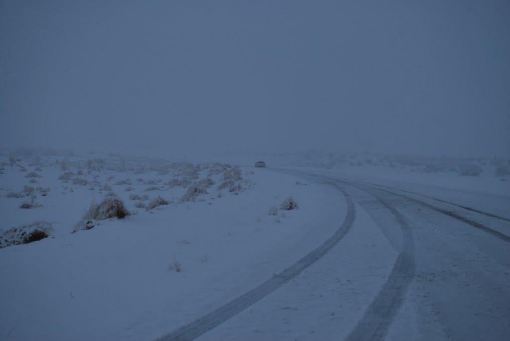 Somewhere in the desert, near Ýerbent. February 2011, Кизыл-Су