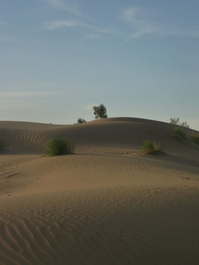 Desert in dusk, Красноводск