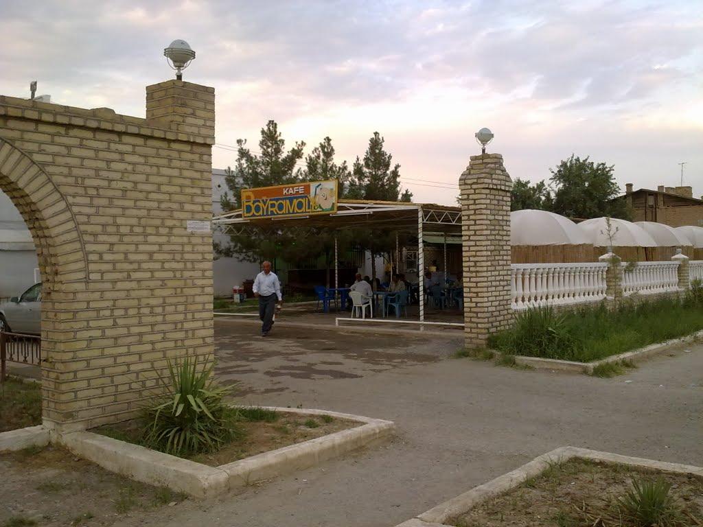 kafe Bayramaly. кафе Байрамали, Байрам-Али