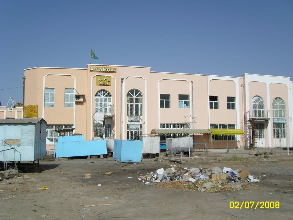 street of Bayramaly. улица Байрамали, Байрам-Али