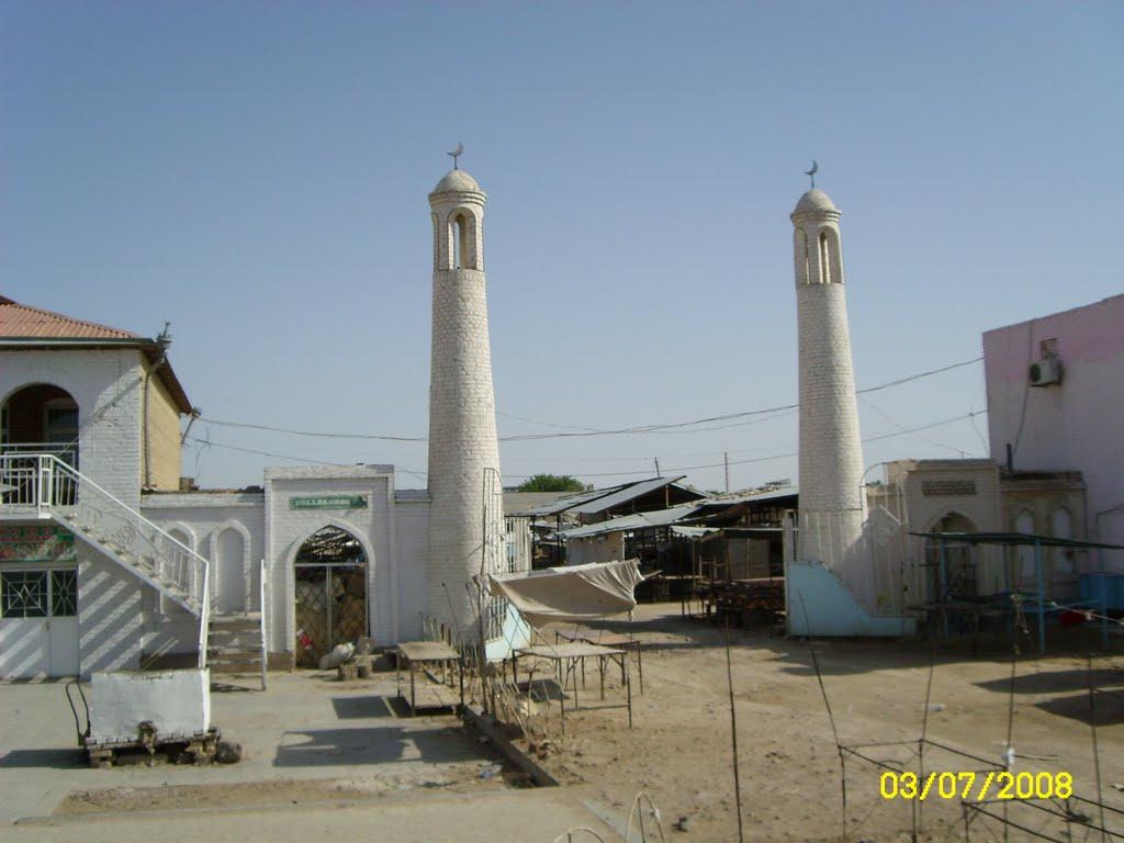 enter to the old market.вход на старый базар, Байрам-Али