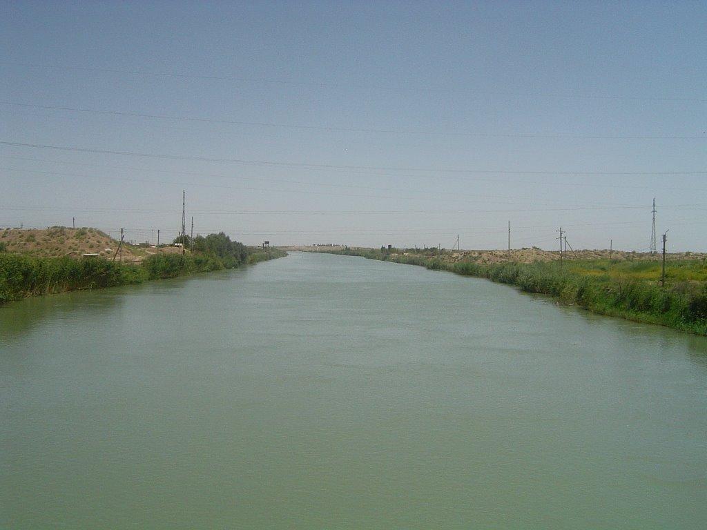 V.I.Lenin Karakum-river, Захмет